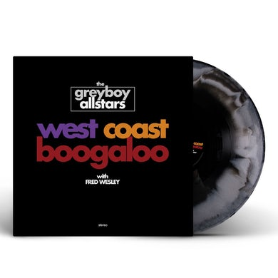 West Coast Boogaloo Vinyl (Grey/Black Marble)