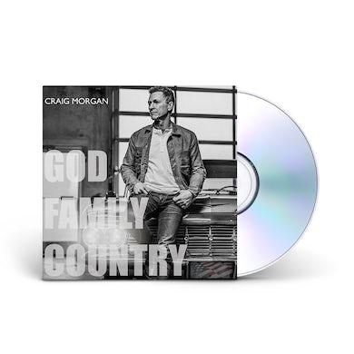 Craig Morgan God Family Country CD