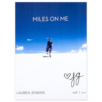 "Lauren Jenkins ""Miles On Me"" Signed Magazine"