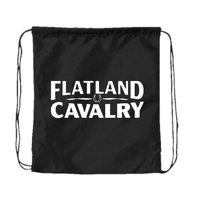 Flatland Cavalry Black Drawstring Bag