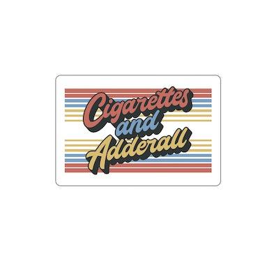 Flatland Cavalry Cigarettes and Adderall Sticker