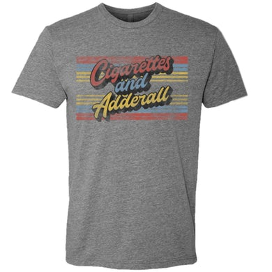 Flatland Cavalry Cigarettes and Adderall Tee