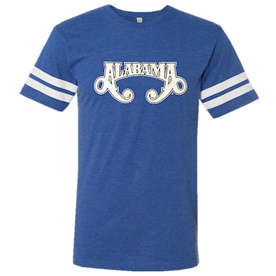 Alabama Vintage Royal and White Jersey