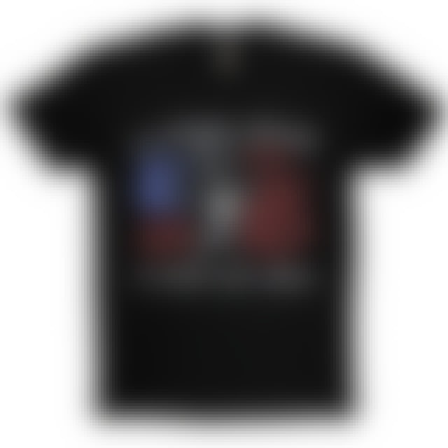 Aaron Lewis Black Tee- Uncle Sam