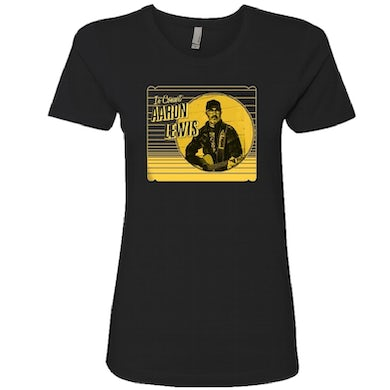 Aaron Lewis Ladies In Concert Black Tee