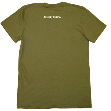 Brandy Clark Military Green Tee