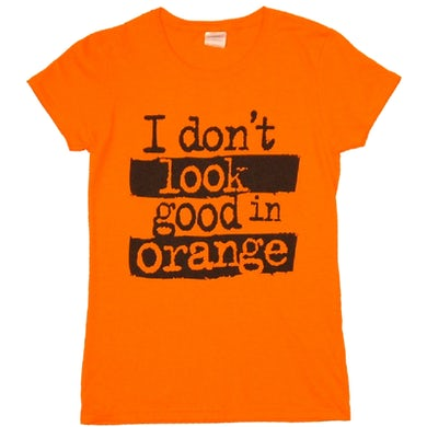 Brandy Clark Ladies Bright Orange Tee