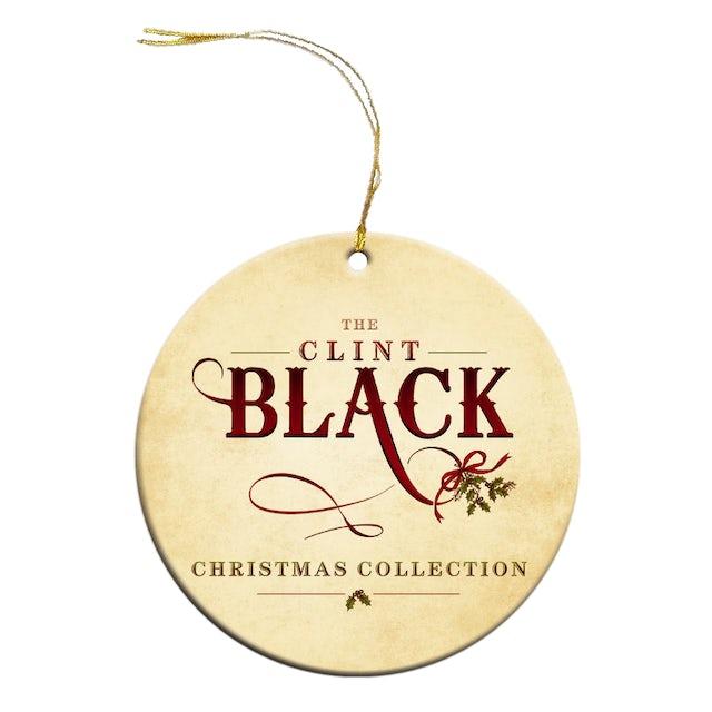 Clint Black Christmas Ornament