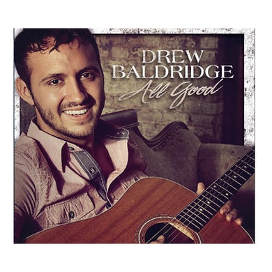 Drew Baldridge AUTOGRAPHED EP- All Good (Vinyl)