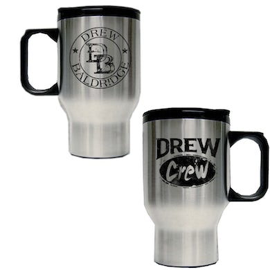 Drew Baldridge Stainless Steel Travel Mug