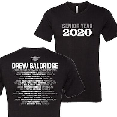 Drew Baldridge Senior Year 2020 Black Tee