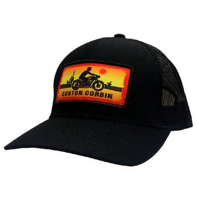 Easton Corbin Black Motorcyle Ballcap