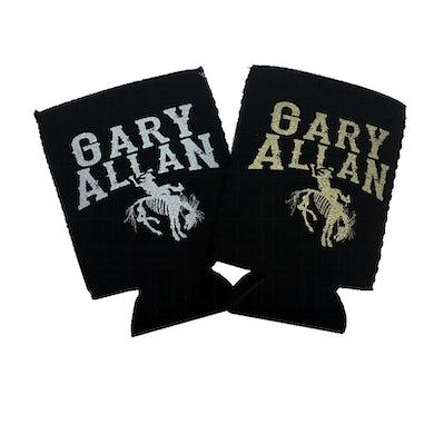 Gary Allan Metallic Logo Coolie