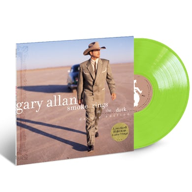 Gary Allan LIMITED EDITION Green Vinyl- Smoke Rings in the Dark