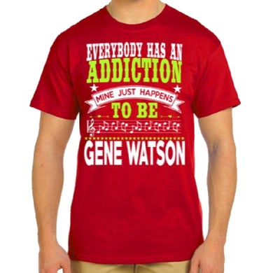 Gene Watson Red Addiction Tee