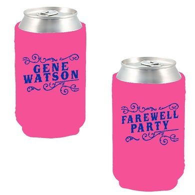 Gene Watson Farewell Party Hot Pink Can Coolie