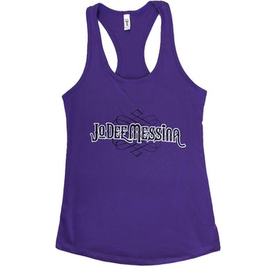 Jo Dee Messina Ladies Purple Rush Racerback Tank