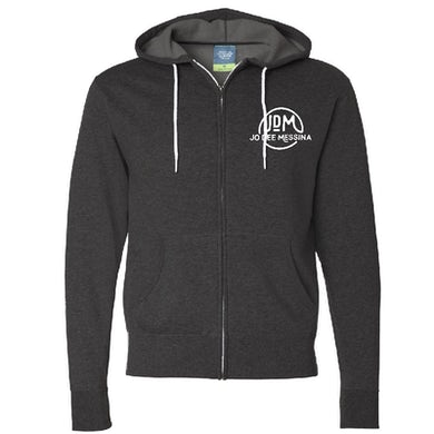 Jo Dee Messina Heather Charcoal Zip Up Hoodie