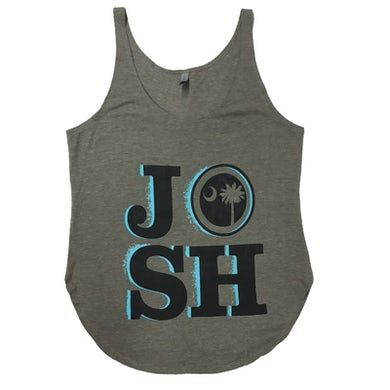 Josh Turner Ladies Ash Tank
