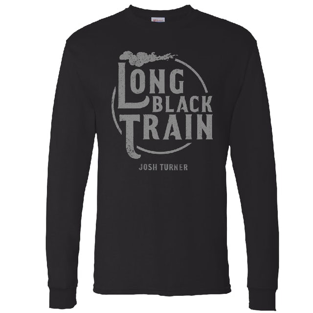 Josh Turner Long Sleeve Black Tee- Long Black Train
