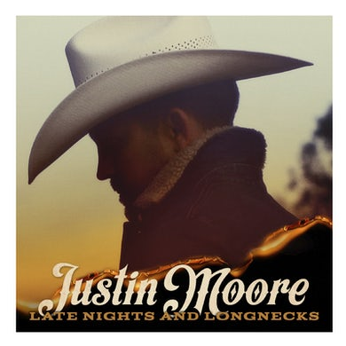 Justin Moore CD- Late Nights and Longnecks