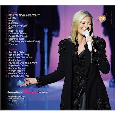 Olivia Newton John CD- Live in Vegas