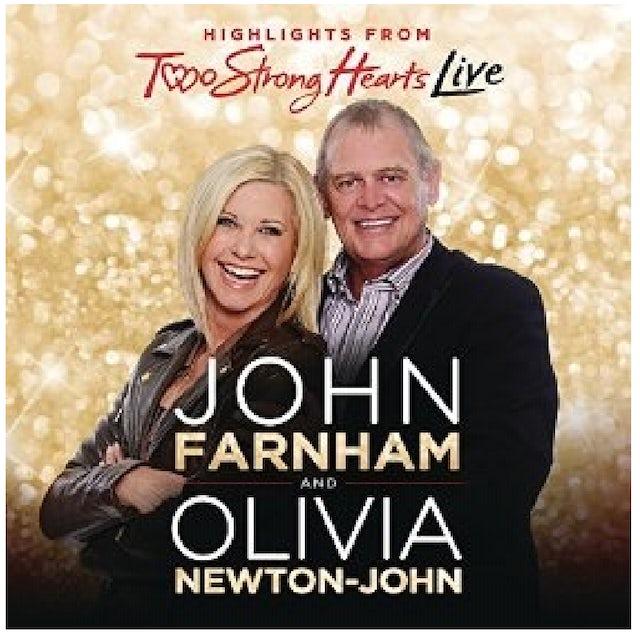 Olivia Newton John CD- Two Strong Hearts LIVE