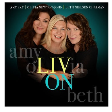 Olivia Newton John CD- Liv On
