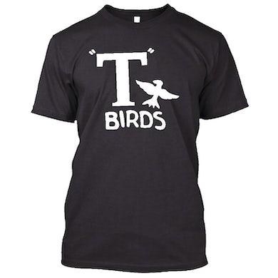 Olivia Newton John T Birds Black Tee