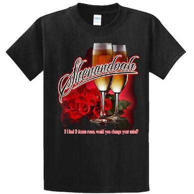 Shenandoah Ladies Black 2 Dozen Roses Tee