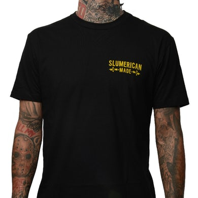 Slumerican Made Black Tee