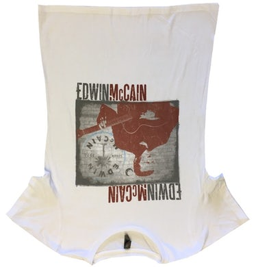 Edwin McCain Ladies White Tee