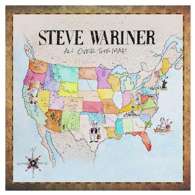 Steve Wariner CD- All Over the Map