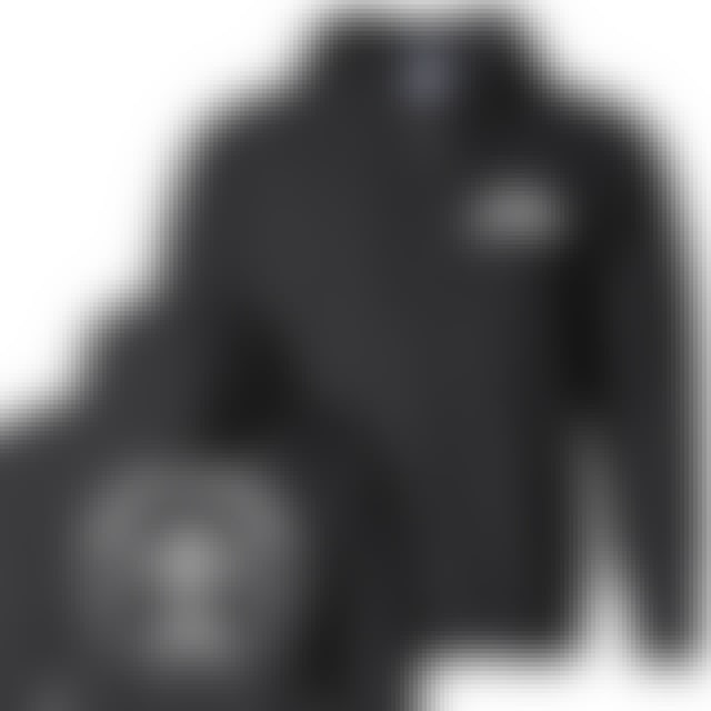 Luke Combs Bootleggers Black Zip Up Hoodie