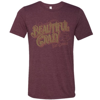 Luke Combs Heather Maroon Tee