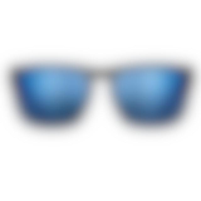 1ad7bd39c4d Luke Combs POLARIZED SUNGLASSES CUMBERLAND MATTE BLACK-PACIFIC BLUE WAYFARER