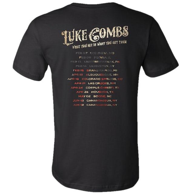 Luke Combs 2020 American Skull Tee | Black