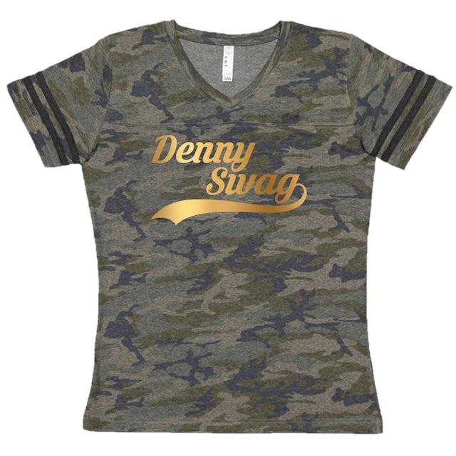 Denny Strickland Vintage Camo V Neck Jersey