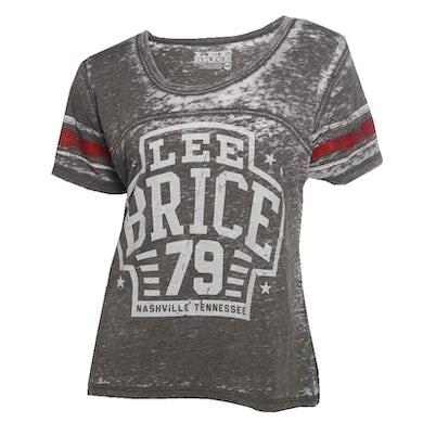 Lee Brice Ladies Grey Jersey