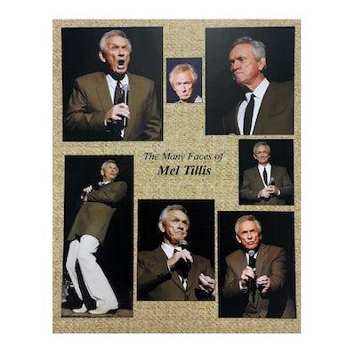 Mel Tillis 8x10- Many Faces of Mel