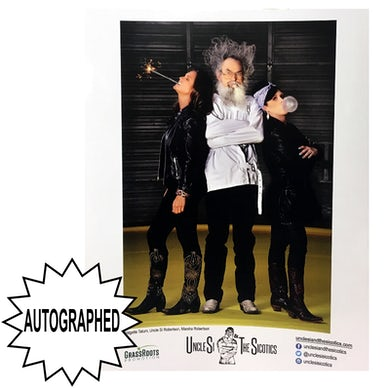 Uncle Si and the Sicotoics Uncle Si and the Sicotics AUTOGRAPHED 8x10