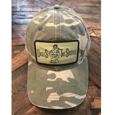Uncle Si and the Sicotoics Uncle Si and the Sicotics Distressed Camo Ballcap