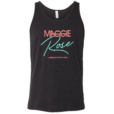 Maggie Rose Unisex Black Heather Tank