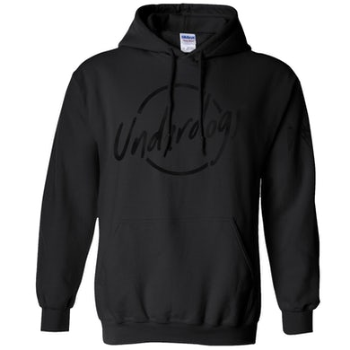 Jimmie Allen Underdogs Black Foil Pullover Hoodie