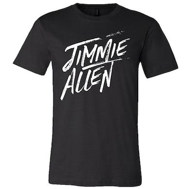 Jimmie Allen Black Logo Tee