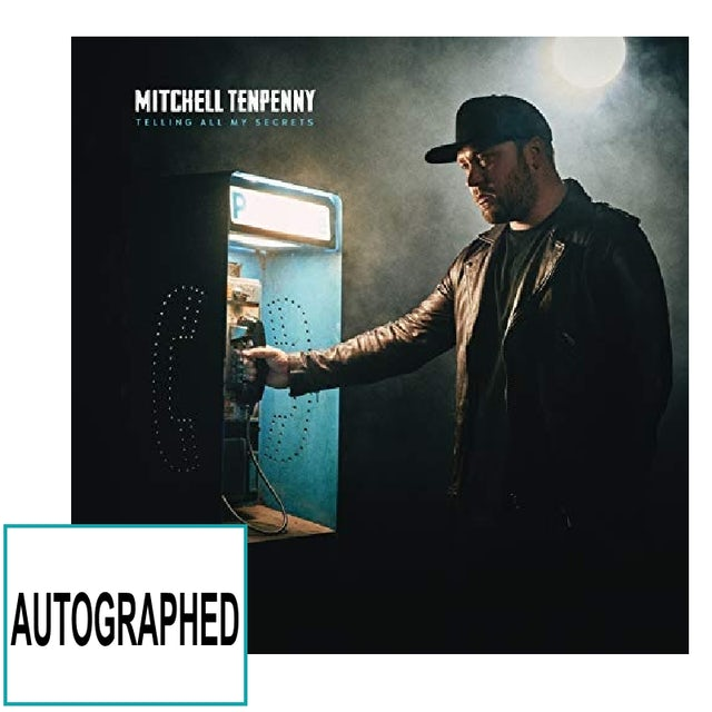 Mitchell Tenpenny AUTOGRAPHED CD- Telling All My Secrets