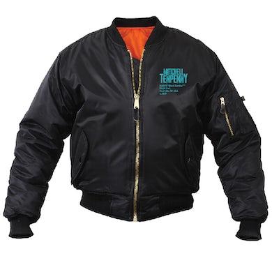 Mitchell Tenpenny Black Bomber Jacket