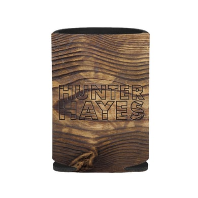 Hunter Hayes Wood Grain Koozie