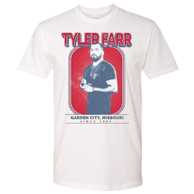 Tyler Farr White Photo Tee