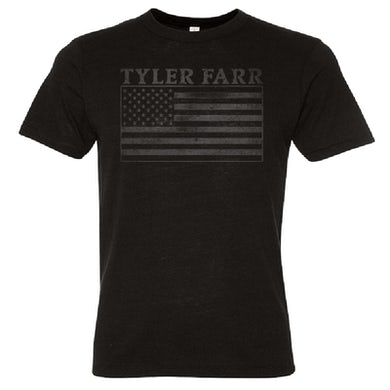 Tyler Farr Black Flag Tee